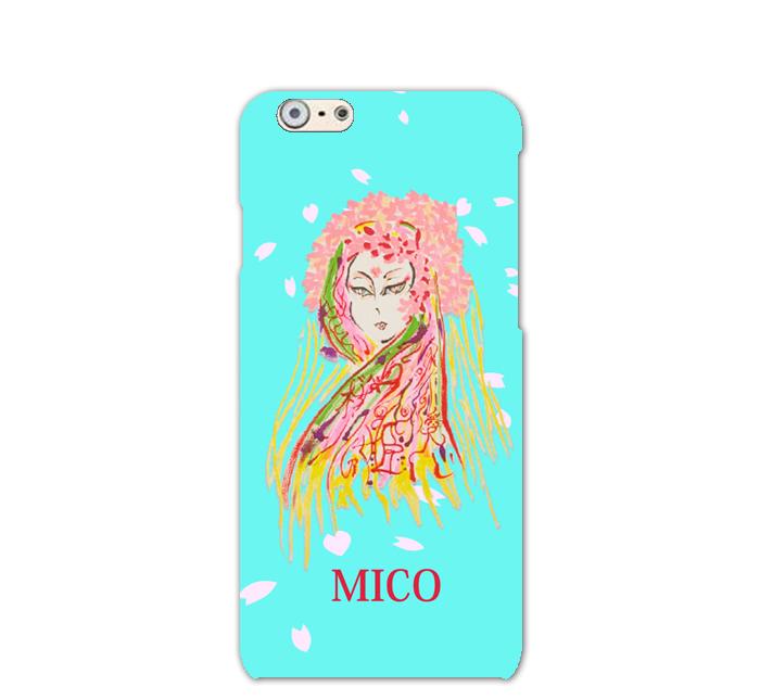 桜姫とはMICOに降りた全く新しい桜の精で、命そのものです。舞を好み、美しく、清らかな姫です。