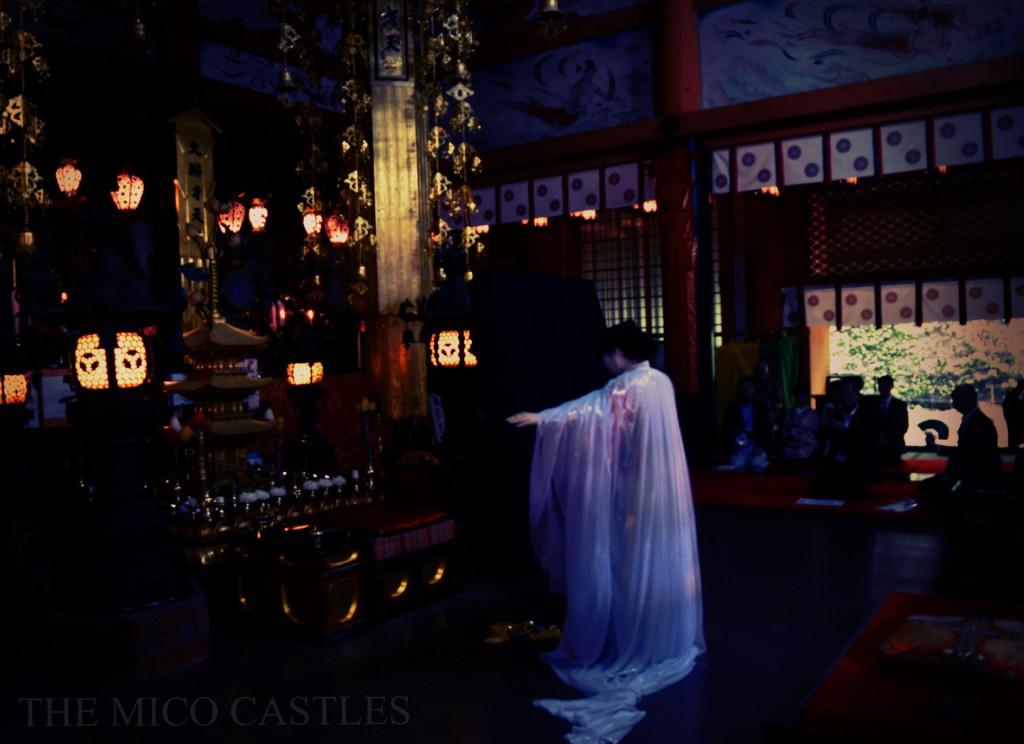 2016年8月15日 竹生島宝厳寺 弁才天さまの奉納作品(こちらの写真は特別な許可のもとで撮影されています)